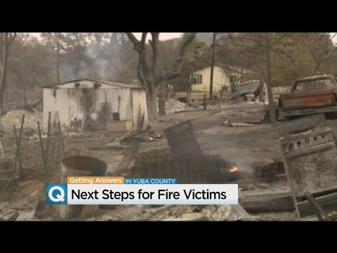 Yuba County Ready To Help Cascade Fire Victims Get Back On Their Feet