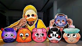 Aprenda Animales Nombre y Sonido para niños - Video educativo de aprendizaje para niños Bebés