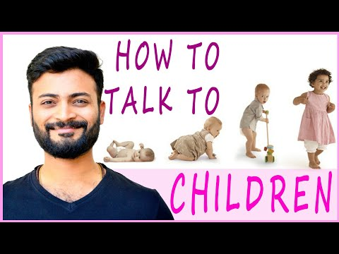 How to talk to children explained as per 8 circuits of consciousness model by an Indian guy