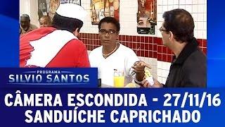 Câmera Escondida (27/11/16) - Sanduíche Caprichado