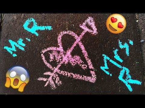 AWESOME REVERSE VIDEO! (PLAYING WITH CHALK!)