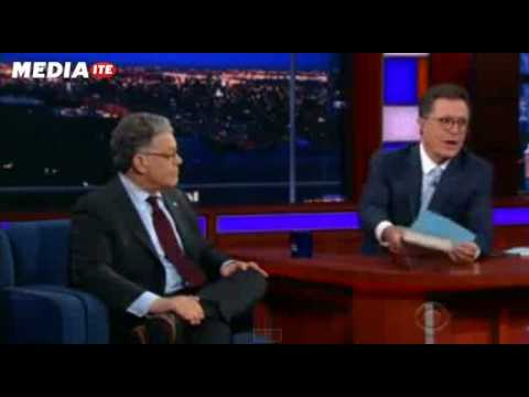 Sen. Al Franken Teaches Colbert How to Pivot Tough Questions