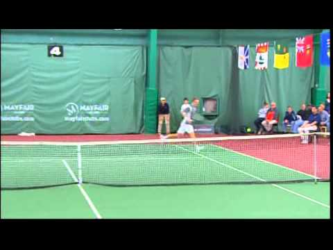 2014 U18 Indoor Rogers Junior National Singles Championship pt. 3