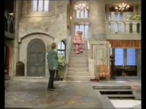 Mr Blobby Gets Sent Up To His Room