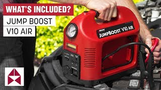 What's Included? JumpBoost V10 Air - Features & Unboxing