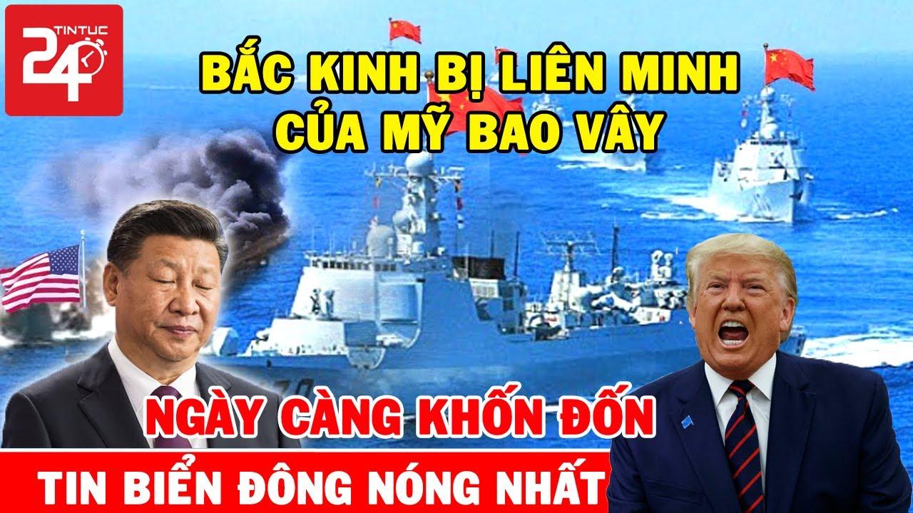 🔥Tin Biển Đông Nóng Nhất Ngày 26/9/2020: Bắc Kinh Cay Cu' Khi Bị Mỹ Ra Tay Trâ'n A'p Ở Biển Đông