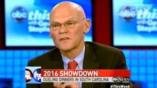 "James Carville: Ted Cruz ""the most talented and fearless Republican politician"" since Reagan"