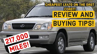 Cheapest 2002 Lexus Lx470?