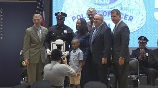 Boston Police Department Academy Recruit Class 56-16 Graduation