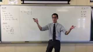 Solving Simple Linear Equations (Quick Questions #3)