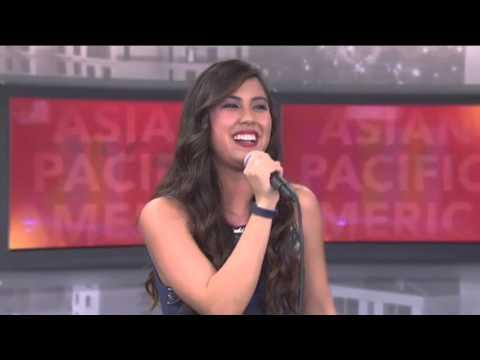 Maddie B on NBC Asian Pacific America TV Jan 24, 2016