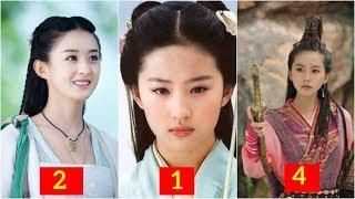 Danh sách 10 mỹ nhân tiên hiệp đẹp nhất màn ảnh Hoa ngữ
