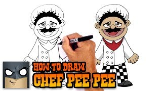 How to Draw Chef Pee Pee | Super Mario Logan