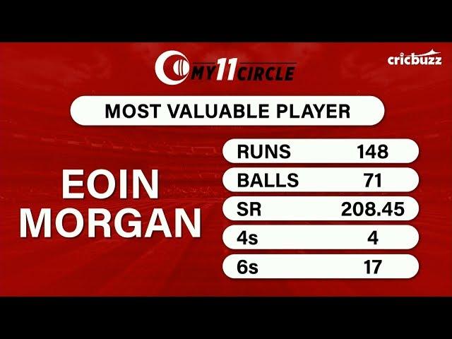 My11Circle MVP, ENG vs AFG: Eoin Morgan