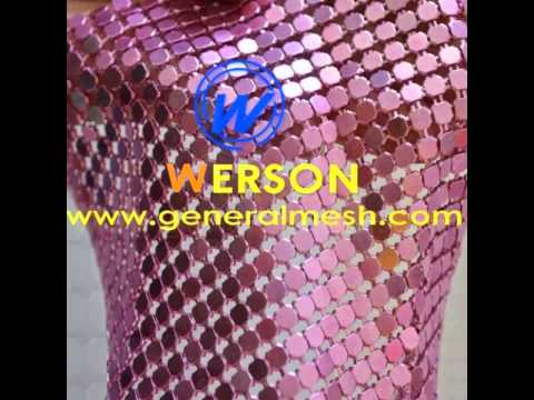 aluminum sequin cloth,sequence fabric,Metal decorative metal wire drapery sales