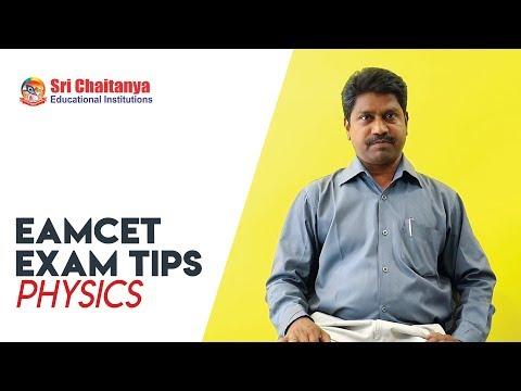 2018 EAMCET EXAM TIPS | PHYSICS | SRI CHAITANYA