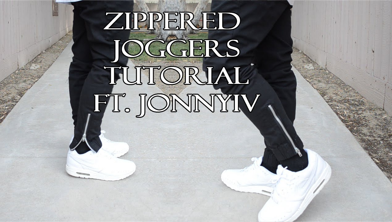 Diy How To Add Zippers To Your Pants Kad Customs 44