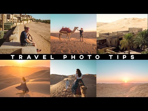 HOW TO TAKE AMAZING TRAVEL PHOTOS!