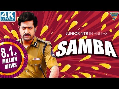 Samba Hindi Dubbed Full Length Movie || Jr. NTR, Bhumika Chawla, Genelia || Eagle Hindi Movies