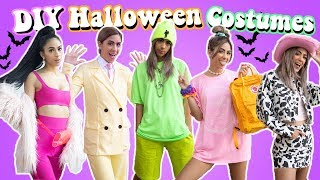 DIY Last Minute Halloween Costumes 2019!