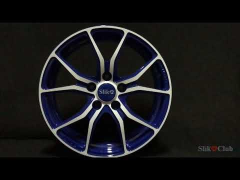 Кованые диски Слик L214 bluefw. Slik Forged Wheels L214 Bluefw
