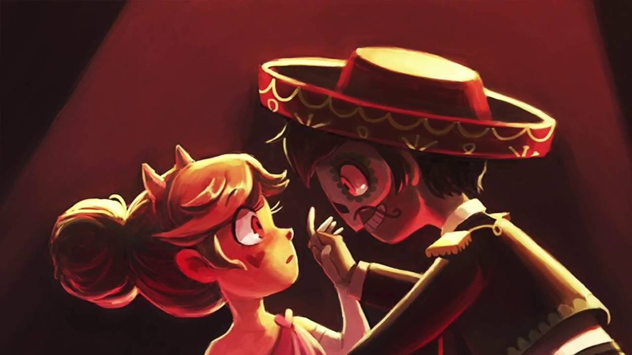 Gravity Falls And Star Butterfly Wallpaper Blood Moon Ball Piano Version Youtube