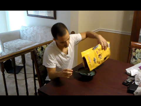 Man Eats Dog Food Youtube