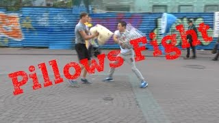 Pillows fight