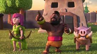 Clash Of Clans NEW Balloon Parade ANIMATION! Clash Of Clans TV Commercial