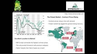 Money Sponge covers a new investment: Emmerson PLC North Moroccan Potash Developer