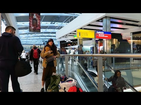 Flying from Vietnam to The Netherlands, transit at Heathrow airport - London