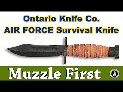 Ontario Knife Company 499 Air Force Survival Knife - A Classic Fixed Blade Knife With A Long History