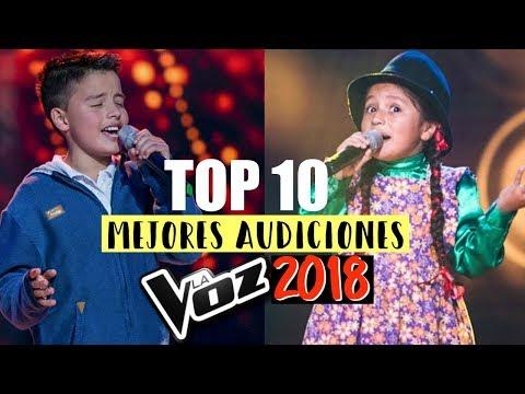 LAS MEJORES AUDICIONES DE LA VOZ KIDS COLOMBIA 2018