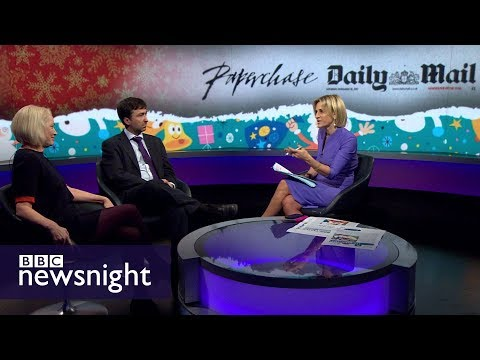 Was Paperchase right to apologise for advertising in the Daily Mail? DEBATE - BBC Newsnight