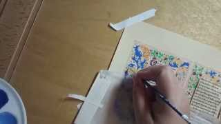 Illumination 201: Painting Acanthus Leaves