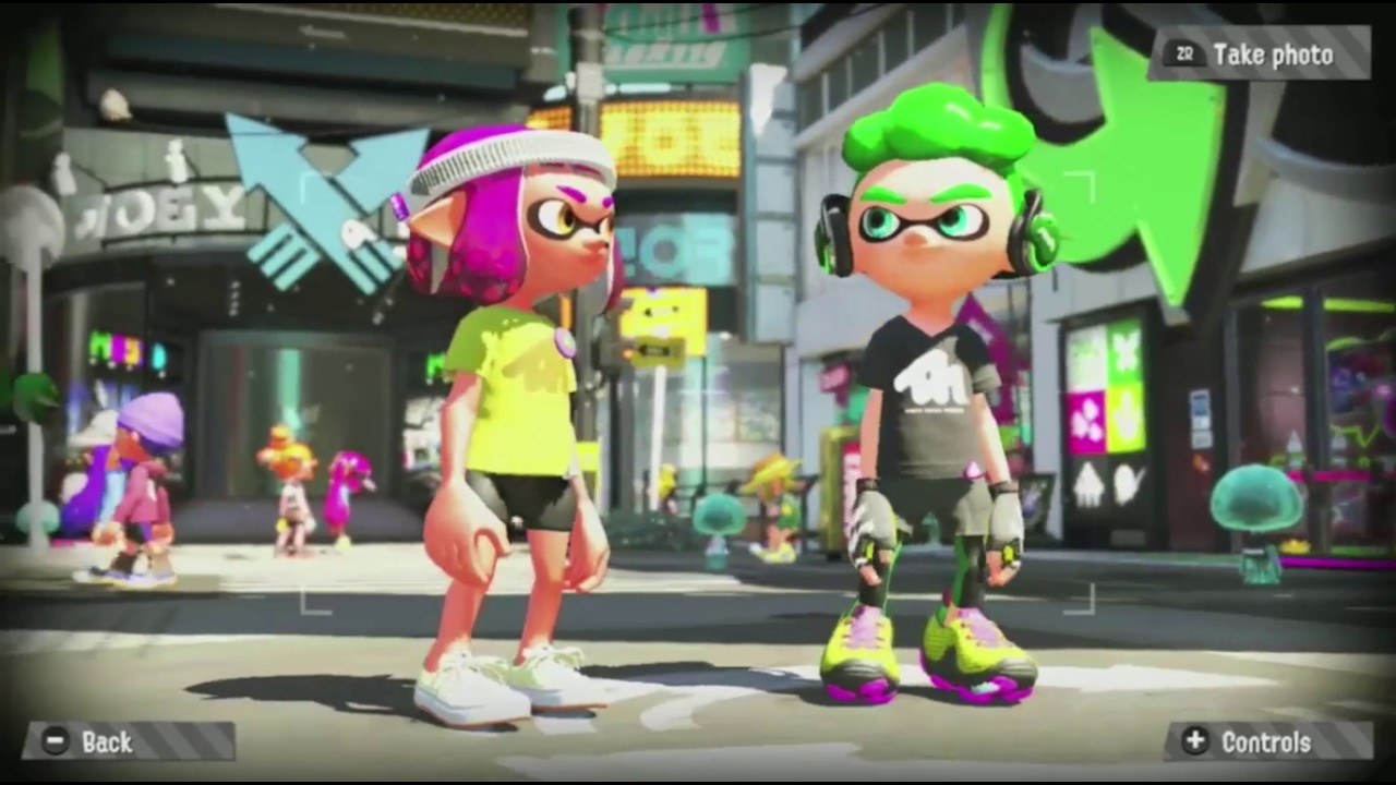 Splatoon 2 amiibo Reveal Trailer (Inkling Girl, Inkling Boy ...