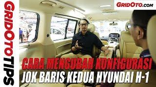 Cara Mengubah Konfigurasi Jok Baris Kedua Hyundai H-1 | How To | GridOto Tips