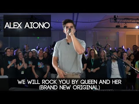 We Will Rock You by Queen and HER BRAND NEW ORIGINAL  Alex Aiono Mashup