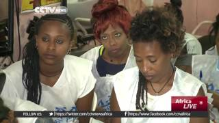 CCTV : Ethiopian Returnees Receiving New Skills For a Better Life at Home ወደ ሃገር ተመላሽ ኢትዮጵያዊያኖች ጠቃሚ