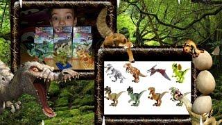Мир динозавров. Конструктор по фильму Мир Юрского периода. Игрушки динозавры. Обзор динозавры.