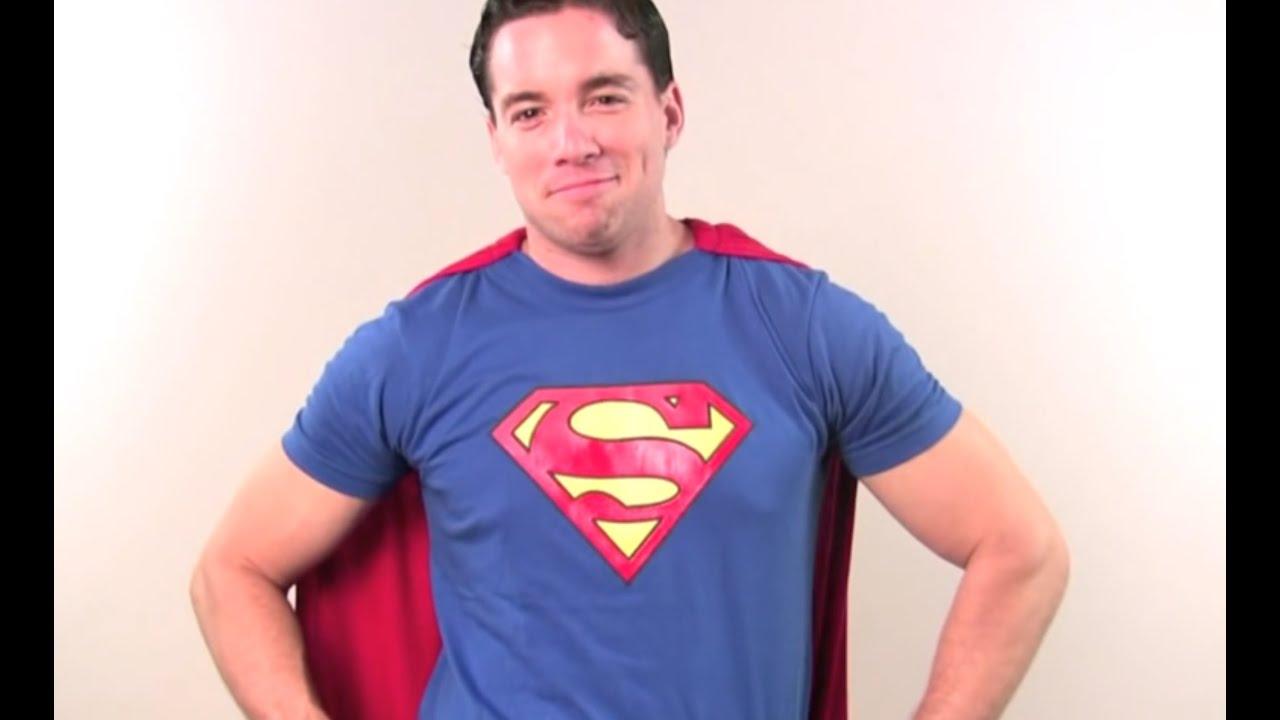 How to make a superman costume youtube solutioingenieria Gallery