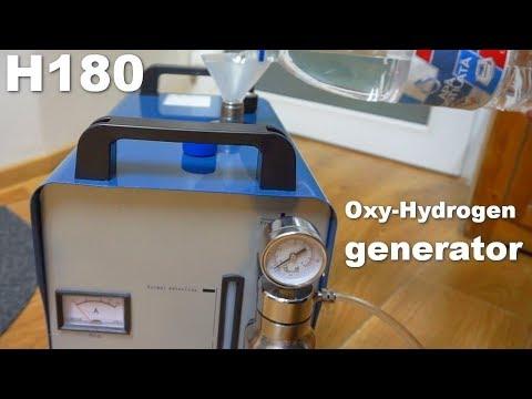 Oxy-Hydrogen/HHO generator (Acrylic Flame Polisher/Welder, H180, 95 l/h, 220V)