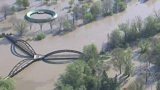 Homeowners survey devastation of Midland County floods