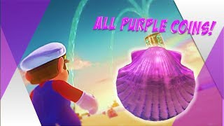 Seaside Kingdom Purple Coin Guide ll Super Mario Odyssey: Road to 100%