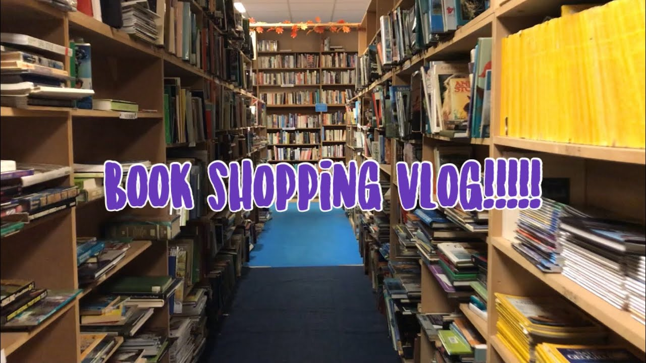 COME BOOK SHOPPING WITH ME!! BOOKBARN VLOG!!
