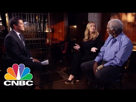 Morgan Freeman: What It Was Like To Negotiate With Steve Jobs | BINGE | CNBC