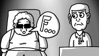 """TENTANDO SE CURAR !!! - O HOMEM QUE FALAVA TUDO COM """" F """" ( FlipaClip )"""