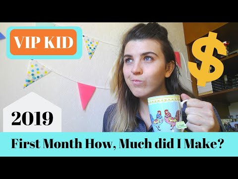 First Month At VIPKID, First Paycheck, Bookings, 2019