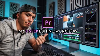 8 Steps to Eḋit a Video in Premiere Pro (Start to Finish)