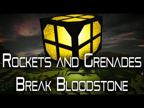 CastleMiner Z - Can Rockets And Grenades Break Bloodstone